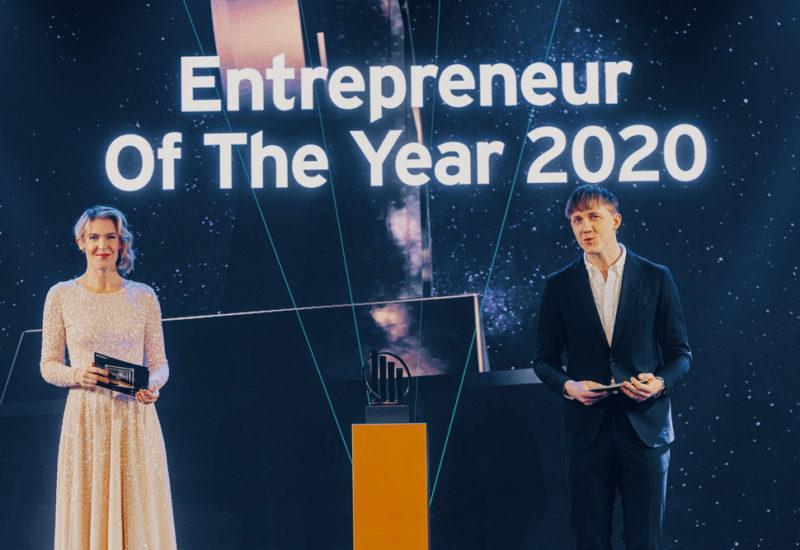 EY Entrepreneur of the year 2020 juhlagaala tapahtumakeskus Telakka