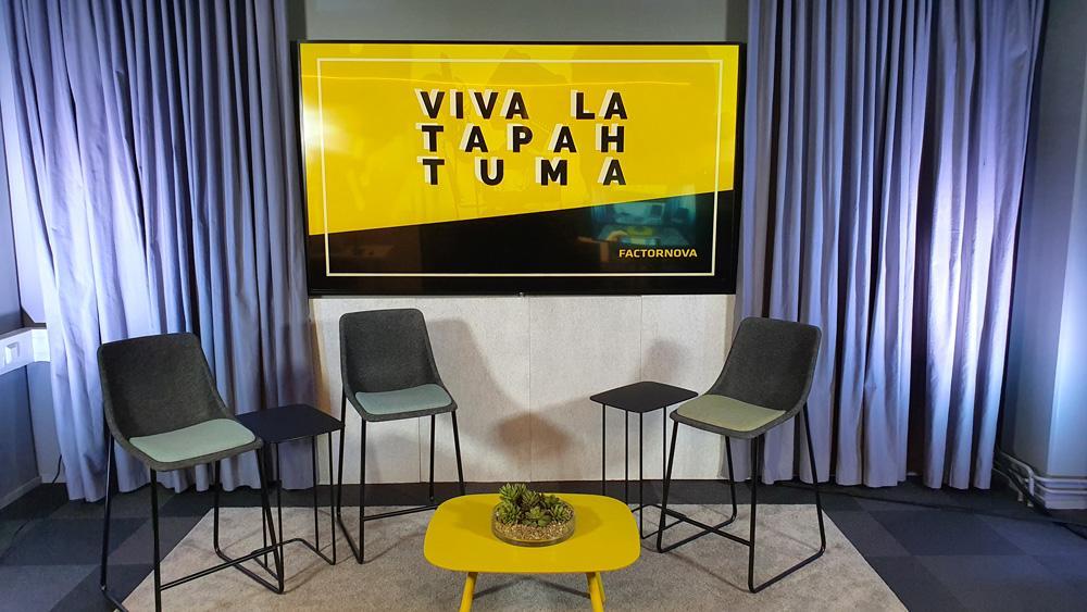 Factor Nova virtuaalistudio Ruoholahdessa ihan Helsingin keskustassa